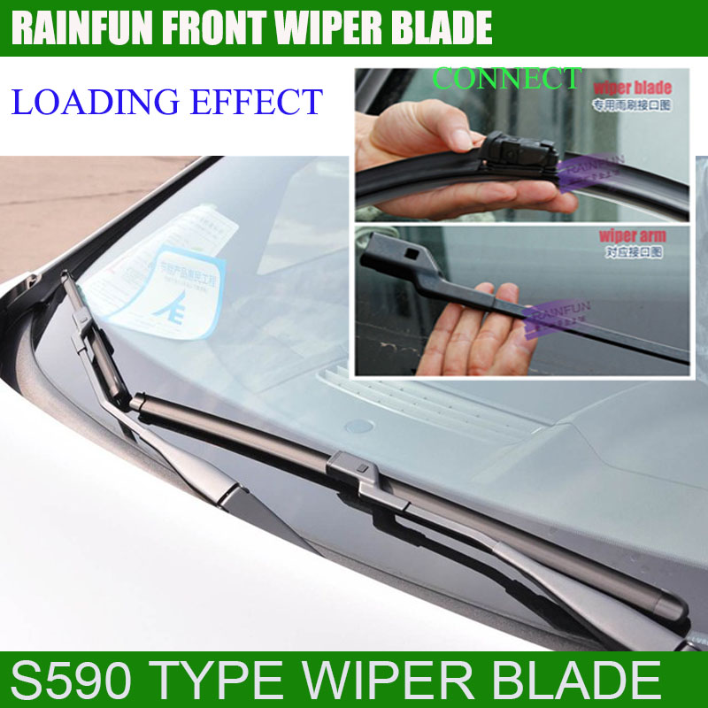 RAINFUN специальный автомобиль стеклоочистителя для VW Sagitar(06-11), высокое качество натурального каучука заправка, 2 шт. в партии