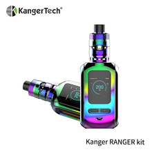 2019 Original Kanger Ranger Kit Box Mod Electronic Cigarette OLED with 3.8ml RANGER TANK E-cigarette No 18650 battery цена