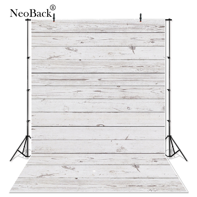 Off White Vinyl Cloth Wood Floor Cake Photographic Backdrop Photography Studio Backgrounds Printed Portrait Pet Photo Backdrops