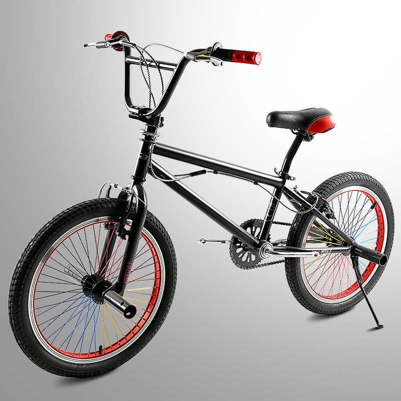 Новые оригинальные 20-дюймовый велосипед BMX шоу совместимый со всеми нарядное небольшой колесный горного велосипеда уличного Велотренажеров велосипедные шлемы экстремальные Российская упаковка