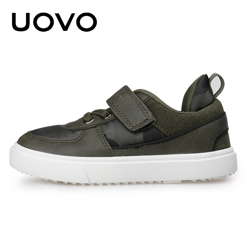 UOVO 2017 New Arrival Camouflage Pattern Children Shoes Spring Autumn Boys Shoes Casual Fashion Shoes for Little & Big Boys штаны для мальчиков 2014 new fashion spring autumn children pants 1 ccc325 casual camouflage trousers for boys sports