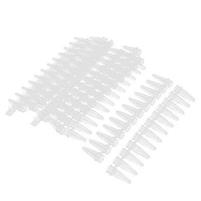 Thin Wall PCR 12-tube Strips W Caps For Agarose Gene Experiment