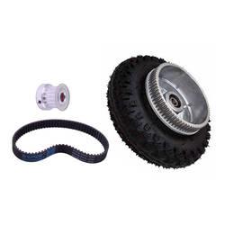 Бесплатная доставка 200*50 мм Электрический снаряжение для скейтборда двигателя колеса для машинки Монстр Трак комплект для Longboard Off Road доска