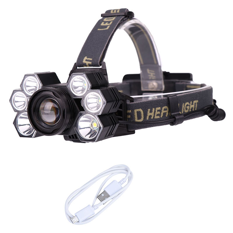 20000LM 3X T6 LED Bicycle black 4 Mode Bike Light Torch Headlight For Camping
