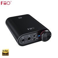 FiiO K3 Portable Headphone Amplifier DSD USB DAC for PC,Support COAXIAL/OPTICAL/2.5 BALANCE