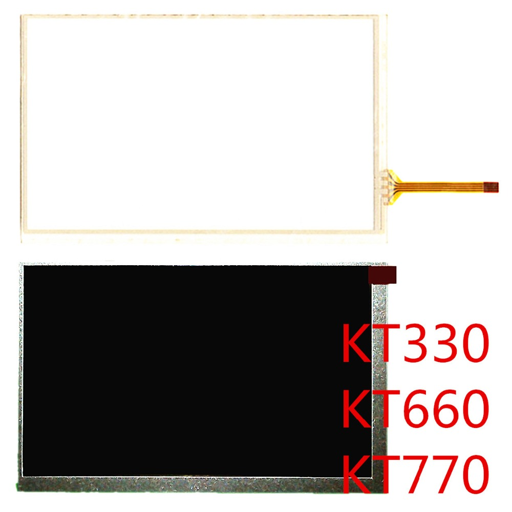 Precise Bosch Kinder Kt330 Dr Computer & Office Kingtech Kt660 770 Touch Screen Lcd Display Screen Repair Replacement Spare Parts Free Shipping Tablet Accessories