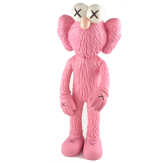 12Inch Medicom Toy KAWS BFF Tide Doll OriginalFake Brian Street Art PVC Action Figure Collectible Model Toy Retail Bags S162 2