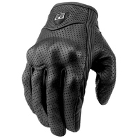 Cycling Gloves Motorcycle Gloves Men Short Leather Touch Screen Outdoor Sports Full Finger Riding Protective Armor