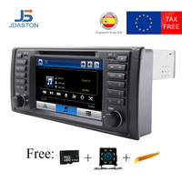 JDASTON Car DVD Player For BMW X5 M5 E39 E53 One Din Car Radio GPS Multimedia Stereo Canbus Map RDS Bluetooth Steering Wheel USB