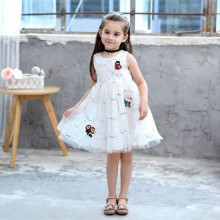 Girls Princess Dress Children Girls Summer Party Wedding Dress Kids Lace Tutu Dress New Summer Princess Baby Girl Clothes