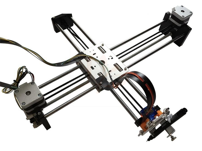 Newest LY writing robot arm max size 320*220mm,assembled machine delivery,directly use