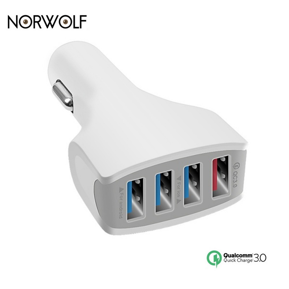 Car Charger 3.0 Quick Charge Car-Charger 7A Fast Car 35W USB Quick Chargers for IPhone Phone Samsung Xiaomi Huawei Vivo Oneplus