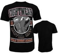 Man Short Sleeve T Shirt Glove Pattern Mma Fight Tops Fightwear Boxing Jerseys Tops