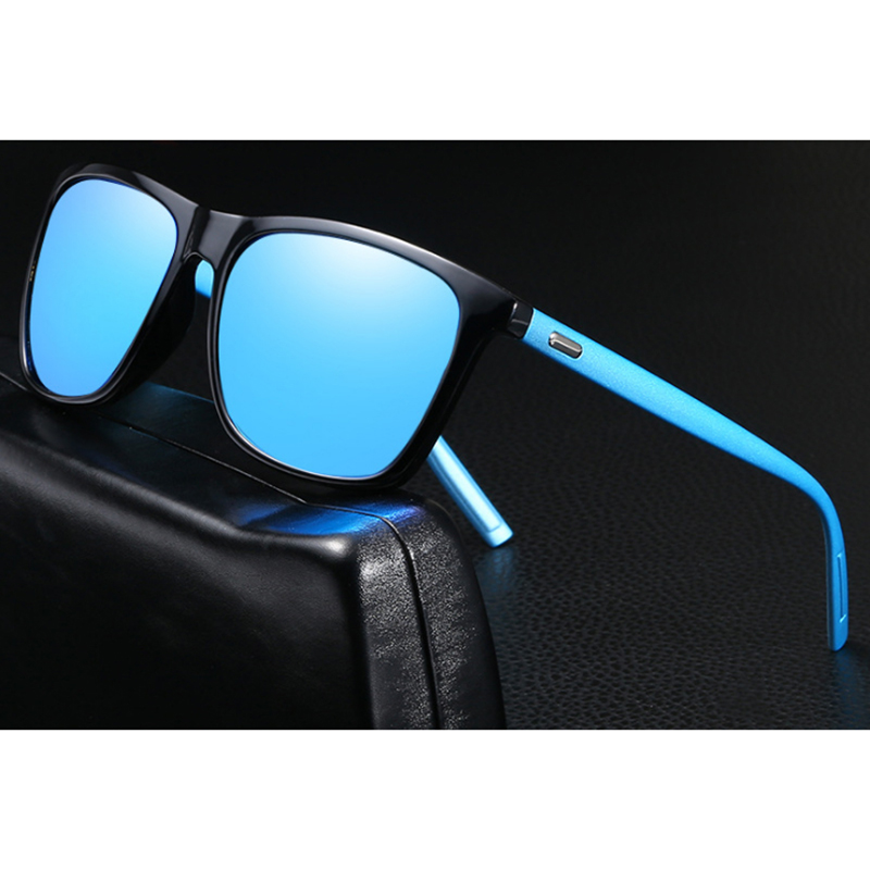 Stgrt 2019 Leisure New Style High Quality Temperament Acrylic Lens Polarized Mens Sunglasses Uv400 Protection For Driving Oculos