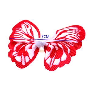 Image 5 - 100pcs Dog hair accessories  Butterfly design Dog Pet hair bows Rubber bands Pet grooming products Fashion Pet Supplies