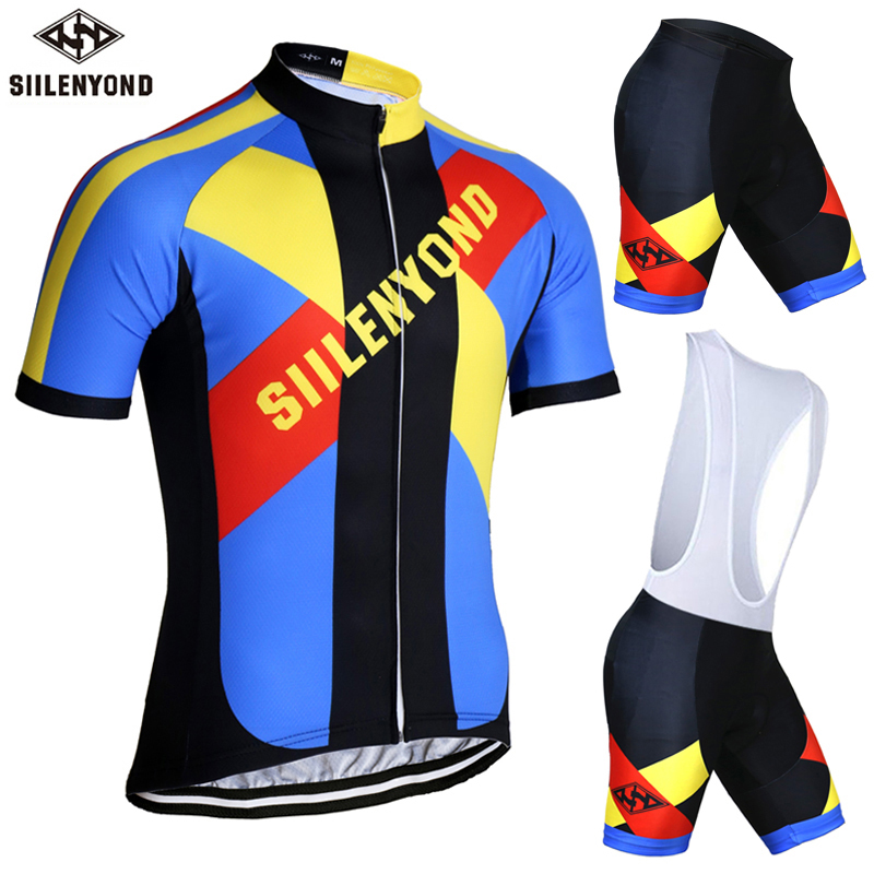 ФОТО SIILENYOND Xinenes Breathable Cycling Jersey Set Summer MTB Bicycle Clothing Set Ropa Maillot Ciclismo Bike Clothes Sportswear