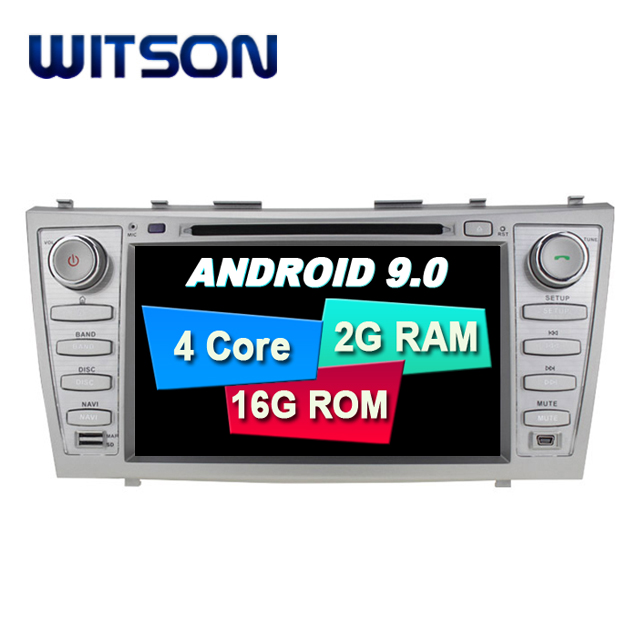 WITSON Android 9.0 car stereo for TOYOTA CAMRY 2007-2010 car audio gps dvd car radio car gps dvd player for TOYOTA CAMRY