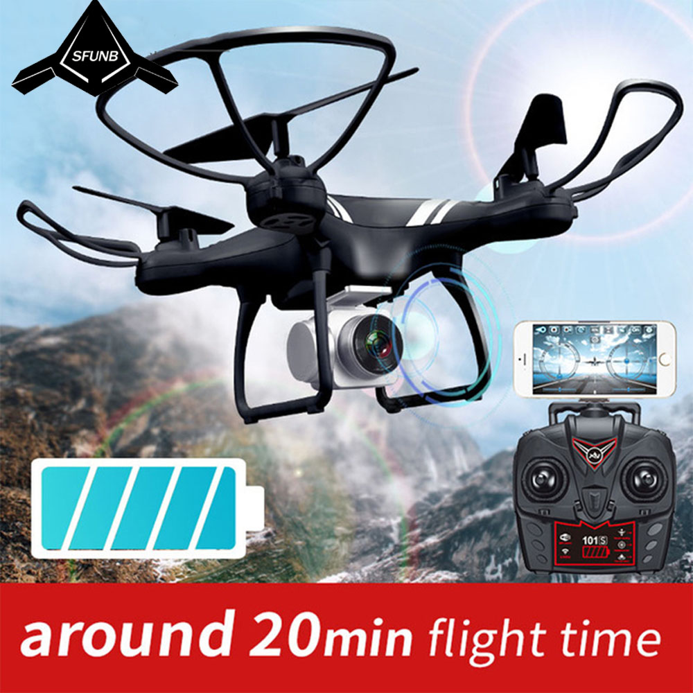 KY101 WiFi FPV Wide Angle 720P/1080P Camera Selfie RC Drone