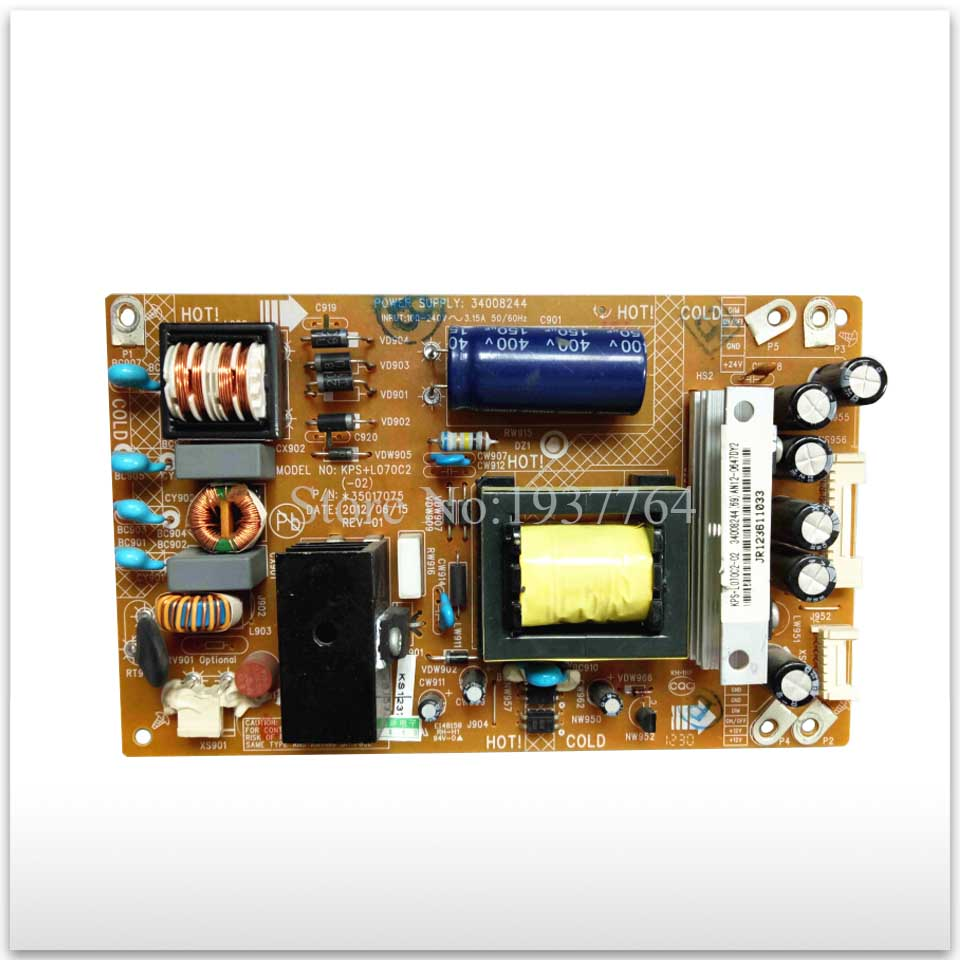 used for power supply board LED32M3500PDE 35017075 34008244 good working good working original used for power supply board led 42v800 le 42tg2000 le 32b90 vp168ug02 gp power board
