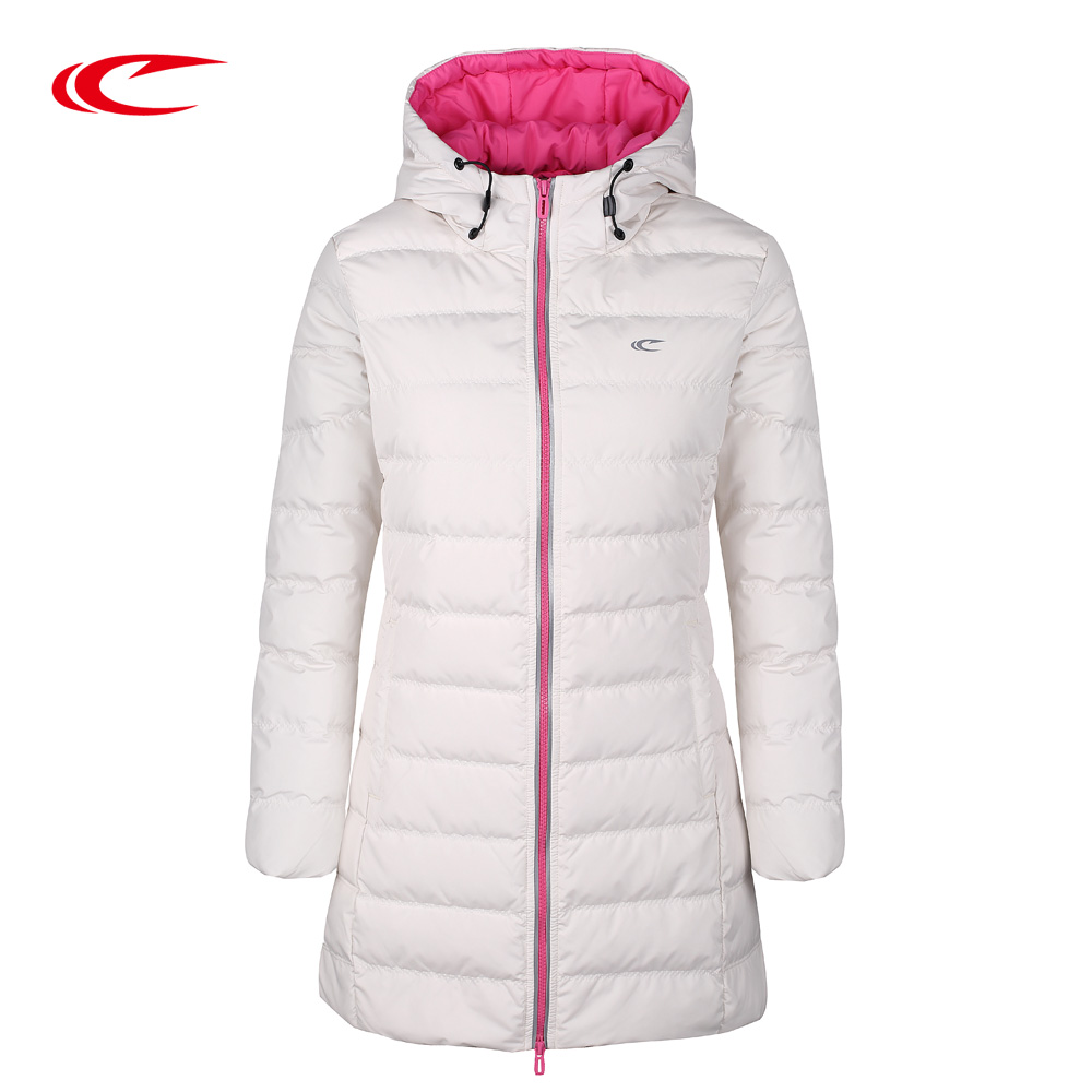 SAIQI Brands Women Ultra Long Down Jackets Winter Down ...