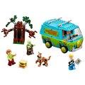 Original BELA 10430 10428 Compatible Legoe Scooby Doo Bloque de La Máquina del Misterio, 75902 Ladrillos de Construcción de Juguetes Para Los Niños