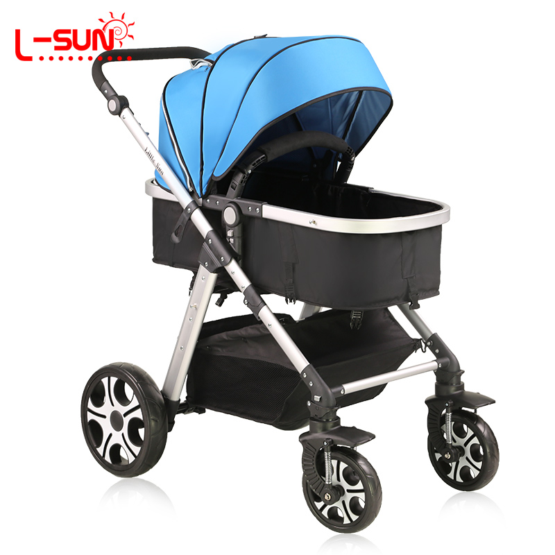 Sun child car baby stroller baby two-way shock absorbers light four wheel folding buggiest bb