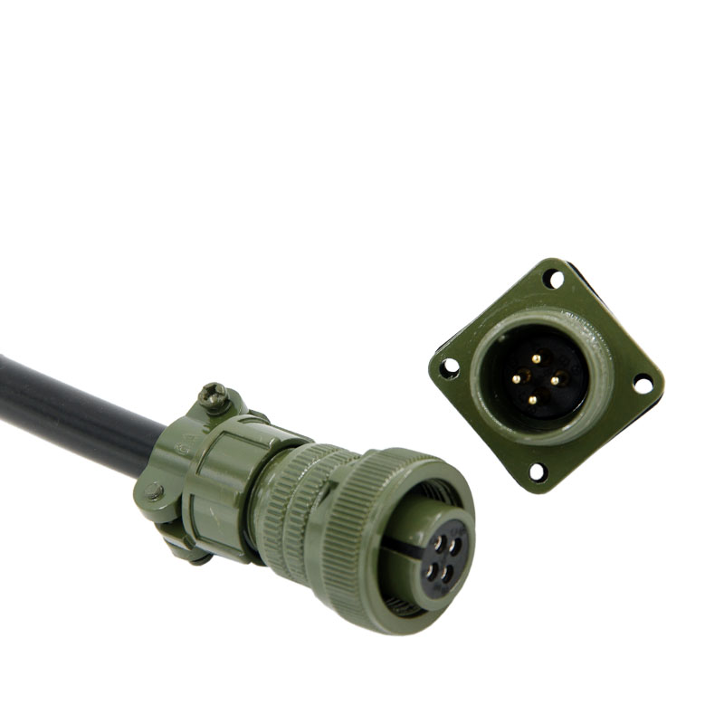 Military standard connector 4pins 5015 connector MS3106 3102 14S-2p Servo motor connector connector 1600236 4 connector
