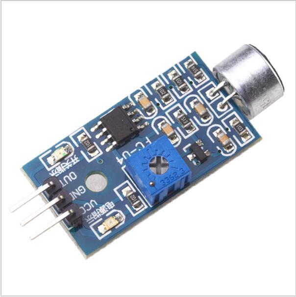 Датчик обнаружения звука модуль звуковой датчик умный автомобиль для Arduino Прямая поставка