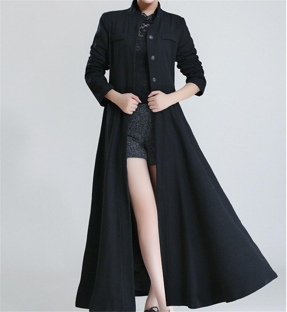 Long Black Coats For Women