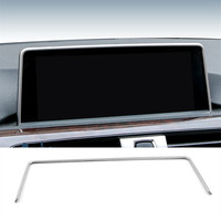 Car Inner Console GPS Navigation NBT Screen Frame Cover Trim Accessories For BMW 1 2 3