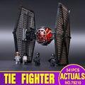 2016 новый Звездные войны серии Первого Порядка Спецназ TIE fighter модель Строительные Блоки Классические Игрушки совместимость 75101