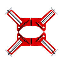4inch Multifunction 90 degree Right Angle Clip Picture Frame Corner Clamp 100MM Mitre Clamps Corner Holder Hand Tool 2 pcs