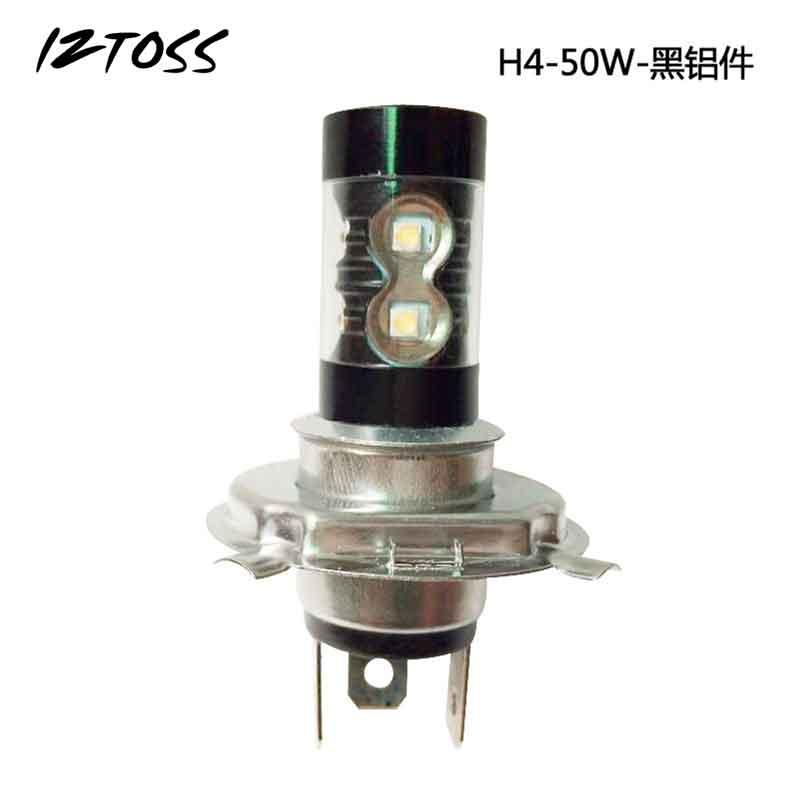 IZTOSS H7 Car-styling Led High Power Fog Lamp Black Aluminum Fog Lamp Headlamps Bulds