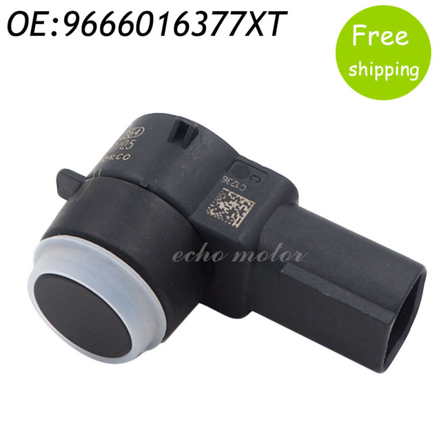 New PDC Parking Aid Sensor For Peugeot 308 407 RCZ Citroen C4 C5 C6 DS3 9666016377XT 0263003893
