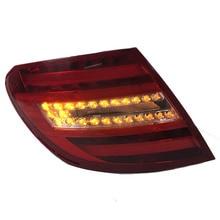 Original size Rear brake lights lamp taillights For mercedes benz W204 C180 C200 C220 C250 C260 C280 C300 Car Light Assembly