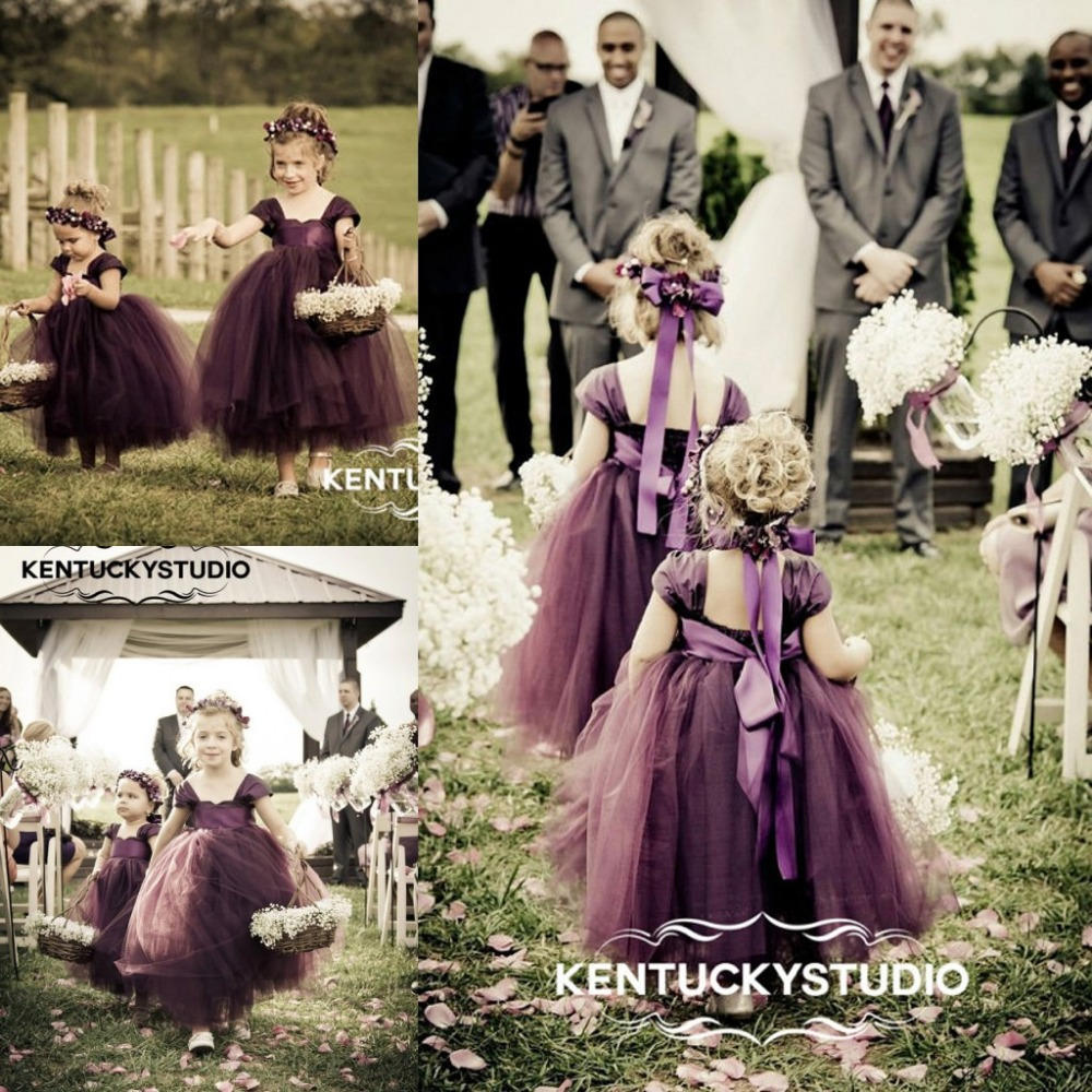 Illusion purple flower girl dresses 2017 vintage princess scoop cap illusion purple flower girl dresses 2017 vintage princess scoop cap sleeves open back cheap flower girls gowns party dresses in flower girl dresses from izmirmasajfo Images