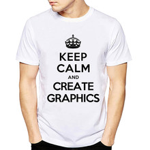 9d060ed6 Men T Shirt Short Sleeve Keep Calm Printed T-shirts Funny Man Tumblr Tshirts  Homme Top Tees