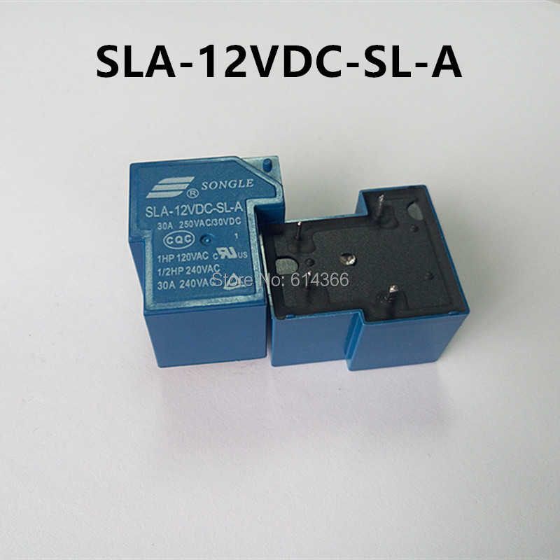 New original 10PCS  SLA-12VDC-SL-A 4Pin 30A 250VAC T90 12V RELAYS подушка classic by t classic by t mp002xu0dudn