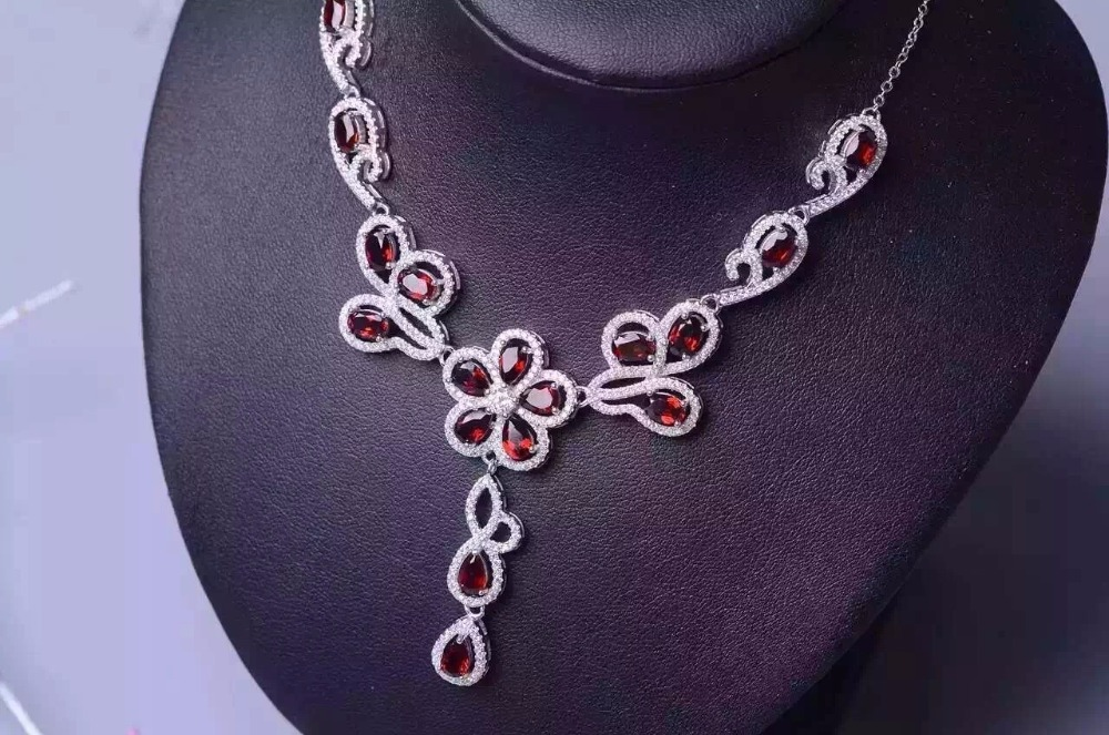 The same brand is designed for the 925 Silver Garnet Necklace. The customers are interested in the technology. китайский традиционный наряд для детей mu in the same village t008