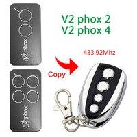 V2 PHOX 2 PHOX 4 Remote Control Cloner Duplicator Rolling Code 433 92MHz