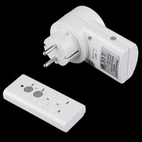 2017 New Arrival EU Wireless Smart Remote Control Power Outlet Light Switch Socket Remote SWITCH For