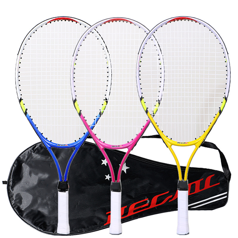 High Quality Kids Junior Children Sports Tennis Racket Aluminum Alloy PU Handle Tennis Racket NCM99