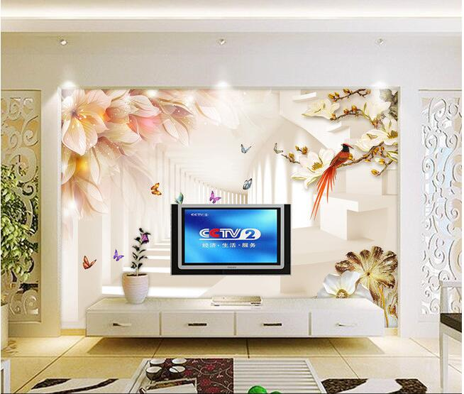 3d wallpaper custom mural non-woven Wall stickers 3 d setting flowers and butterflies paintings photo 3d wall mural wallpaper 3d wallpaper custom mural non woven cartoon animals at 3 d mural children room wall stickers photo 3d wall mural wall paper