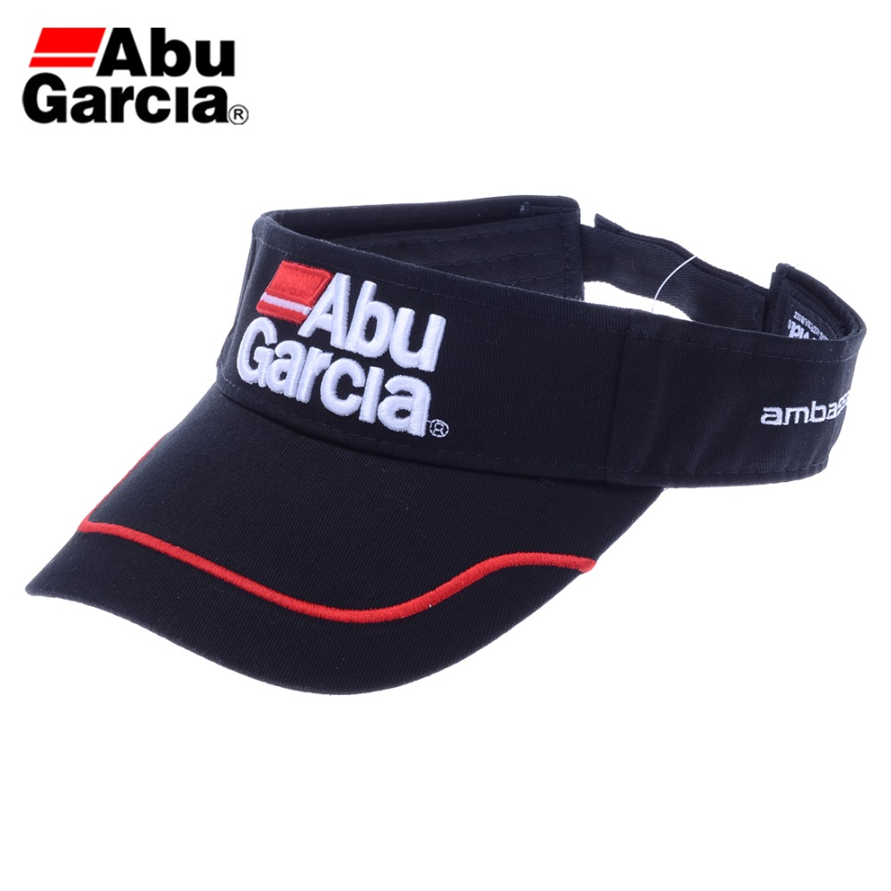 80851f21bcabe Abu Garcia Brand Revo Black Women s and Men s unisex Fishing Golf Baseball Cap  Outdoor Sports Adjustable