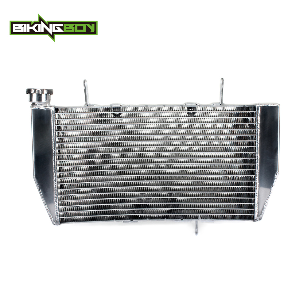 BIKINGBOY Aluminium Alloy Core Motorcycle Engine Radiator Cooling Cooler for Ducati 1098 1198 848 motorcycle cnc split riser clip on handle bars for ducati 748 749 916 996 998 999 848 1098 1198 black
