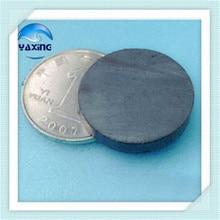 цена на Ferrite  50pcs/pack Dia18x3mm 18*3mm  Black Round Ferrite Magnet