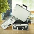 Алюминиевый портфель для хранения, переноска ручных инструментов, коробка с замком, аксессуары, органайзер, ящик для инструментов, портатив...
