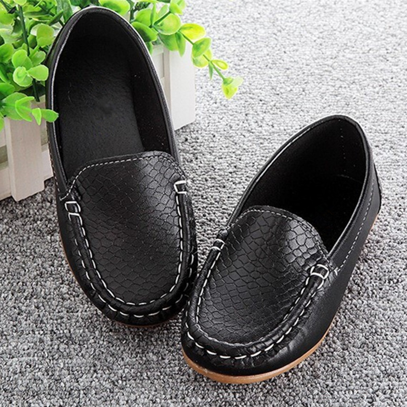 Brand Children Shoes For Boys,Size 21-30 Children Sneakers PU Leather For Boys Girls Loafers Soft Kids Shoes chaussure infant