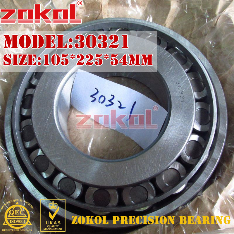 ZOKOL bearing 30321 7321E Tapered Roller Bearing 105*225*54mm мяч футбольный larsen larsen futsal sala