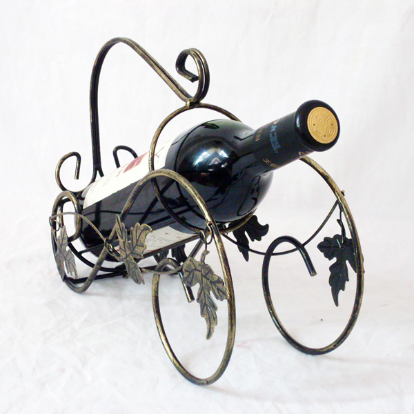 Fashion metal wine rack Coolers Holders Novelty home decoration Creative gift